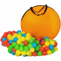 Large play tent with tunnel + 200 balls for kids - kids pop up tent, kids tent, pop up play tent - colorful