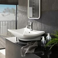 Faucet classic - bathroom sink tap, faucet tap, bath and sink tap - grey