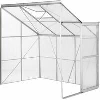 Greenhouse lean-to - lean to greenhouse, greenhouse plastic, polycarbonate greenhouse - transparent