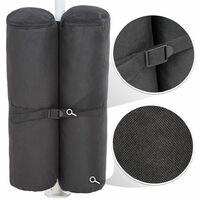 4 Gazebo weights made of polyester - gazebo, gazebo for sale, outdoor gazebo - black