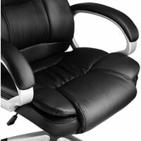 Office chair Jonas - desk chair, computer chair, swivel chair - black