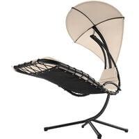 Garden swing chair Maja - swing chair, hanging chair, hanging garden chair - beige