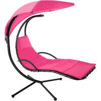 Garden swing chair Maja - swing chair, hanging chair, hanging garden chair - pink