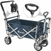 Nico Collapsible Handcart - blue