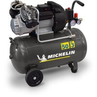 Compresseur 50 Litres Michelin 3CV livré avec kit accessoires