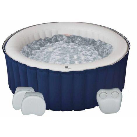 Spa gonflable PAROS bleu en pvc 700L