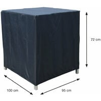 Coverit Garden Lounge Chair Cover 100 x 95 x H72cm