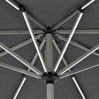 3m LED Parasol - Grey