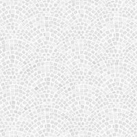 Contour Grey Trajan Tile Wallpaper