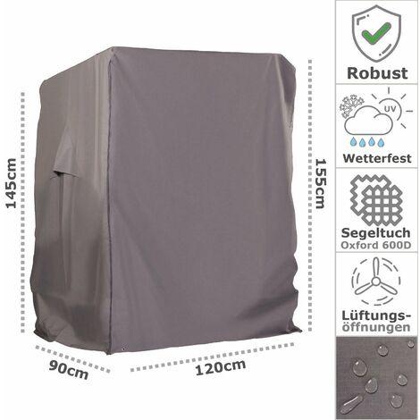 Tragetasche LEX Schutzhülle Deluxe für Strandkörbe XL 155 x 105 x 170//135 cm