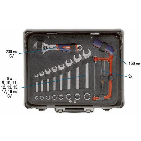 gefüllt 40-teilig kwb Werkzeug Koffer inkl robust 370720 Werkzeug-Set