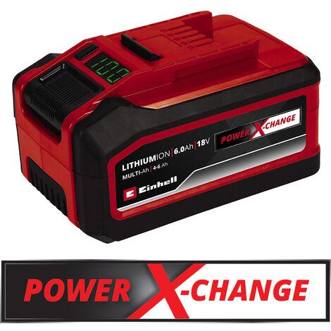 Einhell Power X-Change Akku 18V 4-6 Ah Multi-Ah PXC Plus