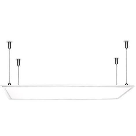 Panneau LED Ultrafin 120x30Cm 36W 2270Lm 30.000H | Blanc froid (HO-PAN120030036W-CW)
