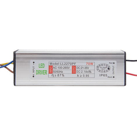 Driver Non Dimmable Projecteur LED 70W (DR-PR-ND-70W)