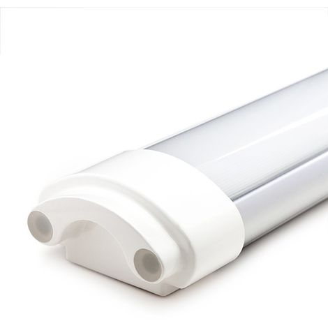 Luminaire LED Étanche IP65 90Cm 30W 2700Lm 30.000H   Blanc Neutre (SL-TRICDP164G30)