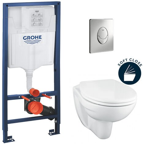 Grohe Solido Perfect Pack Bati WC Solido Compact (39192000)