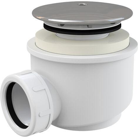Alca Siphon pour receveur de douche, chromé 60 (A47CR-60)