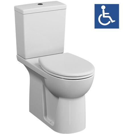 Vitra Pack WC à poser PMR rehaussé Conforma sortie universelle (VitraConformaPMR)