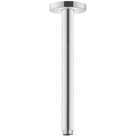 WEKON Tube dextension de Douche Extension Bras Tube dArrosage en Acier Inoxydable pour Pommeau de Douche 20cm