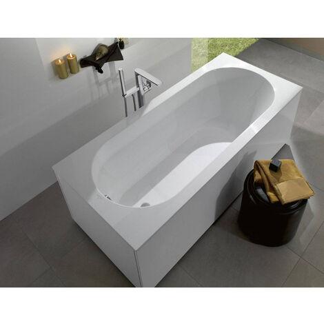 Villeroy & Boch Baignoire Ovale Oberon 170x70 cm marbre coulé, blanc (UBQ177OBE2V-01)