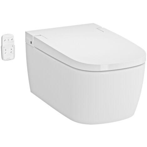 Vitra V-Care 1.1 Smart Essential WC lavant avec commande à distance + Fonctions personnalisables, 100% hygiénique (5674B003-6193)