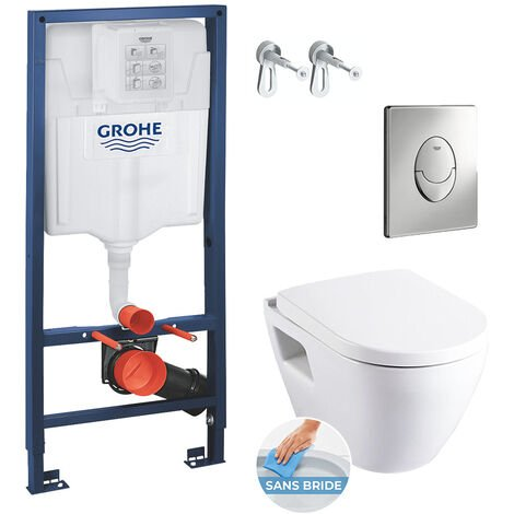Grohe Solido Perfect Pack Bâti WC Rimless (39186PerfectRimless)