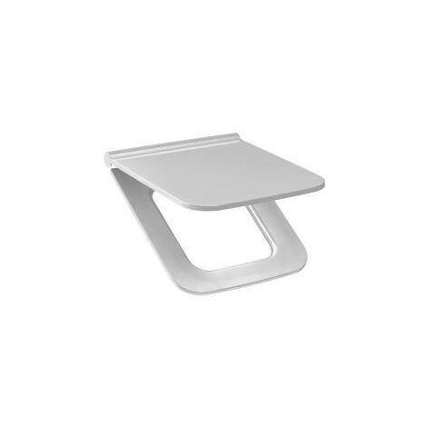 Jika (Groupe Roca) CUBITO PURE - Abattant Duraplast pour cuvette WC , 438x370x50mm, Blanc (H8934223000631)