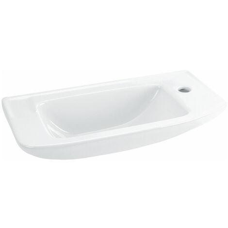 Ideal Standard EUROVIT Lave-mains 125 x 500 x 235 mm, blanc (R421901)