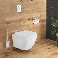 Grohe Euro Ceramic Cuvette WC suspendue, blanc alpin + abattant softclose (39328000+39330001)