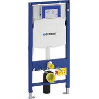 Geberit Duofix UP320 Pack Bâti-support + Plaque de commande Sigma01 Blanche (UP320-Sigma01-B)
