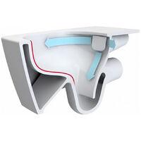 Vitra V-Care 1.1 Smart Comfort WC lavant avec commande à distance + Multifonctions personnalisables, 100% hygiénique (5674B003-6194)