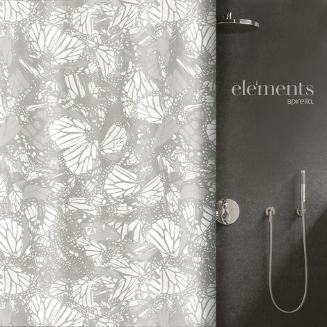 Elementals Duschvorhang verschiedene Designs Polyester 180 x 200 cm