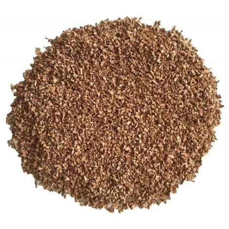Granulés de liège en vrac naturel isolant - Sac de 100L - 2 à 5mm | sac(s) de 0.1 m3 - 0  - Sac de 100L