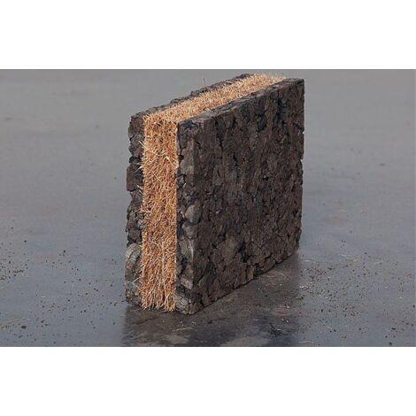 Panneau isolant en liège et fibre de coco Corkoco - Amorim À l'unité |  de 0.5 m² 0  - 2A+1C (liège 10 + coco 20 + liège 10) - À l'unité