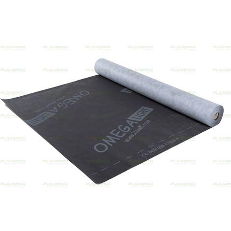 Pare-pluie Omega ISOCELL 50m x 1m50 | rouleau(x) de 75 m² 0 épaisseur | 50m x 1m50 = 75m²