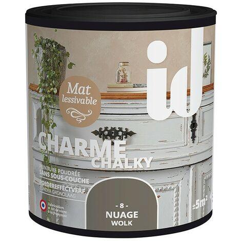 Peinture meubles et boiseries CHARME 500ML NUAGE - ID Paris