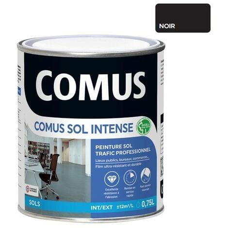 COMUS SOL INTENSE NOIR 0,75L Peinture sols intérieurs et extérieurs, trafic intense/professionnel