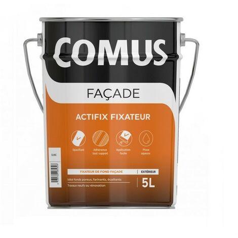ACTIFIX FIXATEUR 5L - Fixateur de fonds douteux façade - COMUS - blanc