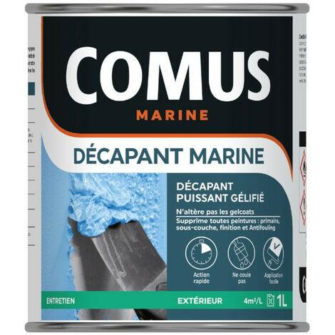 DÉCAPANT MARINE 1L - Décapant gel pour tous types de peintures - COMUS - incolore