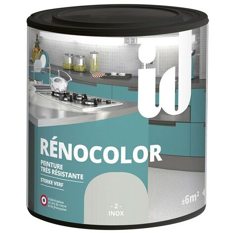 Peinture multisurface RENOCOLOR INOX 450ML - ID Paris