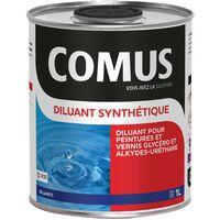 DILUANT SYNTHETIQUE - 1L Diluant pour peintures et vernis type glycérophtaliques et alkyde-uréthanes - COMUS - incolore