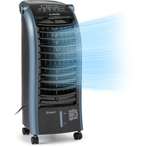 Maxfresh Ocean Fan Air Cooler 6L 55W Remote Control Ice Pack Blue
