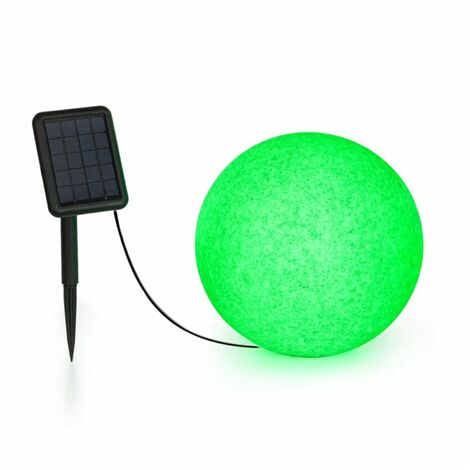 Shinestone Solar 30 Globe Lamp Solar Panel