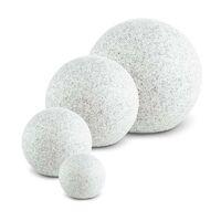 Shinestone XL Globe Lamp Outdoor Garden Light 50cm Stone Look
