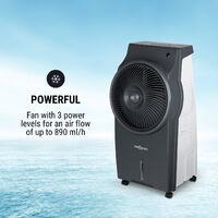 Kingcool 4-in-1 Air Cooler Fan Ioniser Humidifier Grey