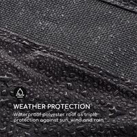 Senator Replacement Roof Sun Protection Polyester Waterproof Grey