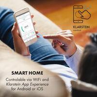 Wonderwall Smart, Infrared Heater, 50x90cm, 450W, Weekly Timer, IP24, White