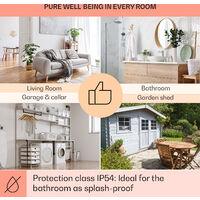 Klarstein Wonderwall Air Art Beach 60 Infrared Heater 101x60cm 600W Wall Installation