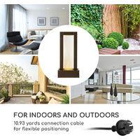 Skyriver Garden Fountain Indoor Fountain Indoor Outdoor LED 10m Cable