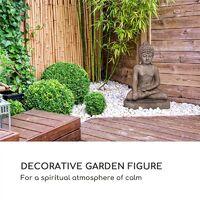 Gautama Garden Figure 43 x 61 x 34 cm Fibreclay Brown